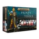 Warhammer Age of Sigmar Paints & Tools Set  - Warhammer Age of Sigmar 32,50€