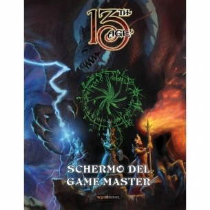 ASMODEE - 13TH AGE SCHERMO DEL GAME MASTER - ITALIANO  - Asmodee 19,99 €