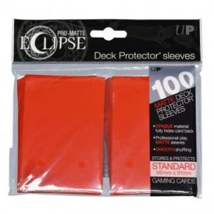 Orange - Pro-Matte Eclipse - 100 bustine protettive  - Ultra Pro 8,90€