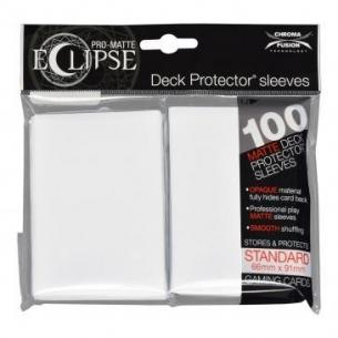 White - Pro-Matte Eclipse - 100 bustine protettive  - Ultra Pro 8,90€