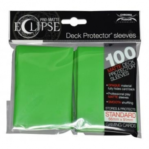 Lime Green - Pro-Matte Eclipse - 100 bustine protettive  - Ultra Pro 8,90€