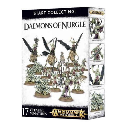 Daemons Of Nurgle - Start Collecting! Maggotkin of Nurgle