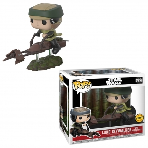 Funko Pop 229 - Luke Skywalker with Speeder Bike - Star Wars  - Fantàsia 49,90 €