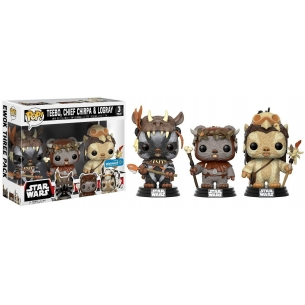 Funko Pop 3 pack - Teebo, Chief Chirpa & Logray - Star Wars  - Funko 49,90 €