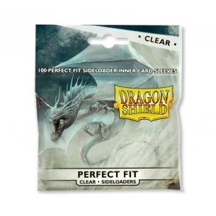 Dragon Shield - Sideloarders Perfect Fit CLEAR (100 bustine)  - Dragon Shield 3,00 €