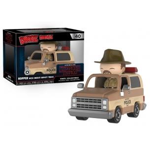 Funko Dorbz Ridez 40 - Hopper with Sheriff Deputy Truck - Stranger Things  - Funko 29,90€