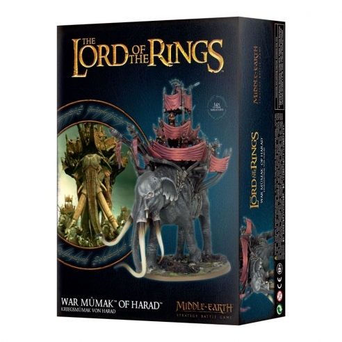The Lord Of The Rings - War Mumak Of Harad The Lord Of The Rings