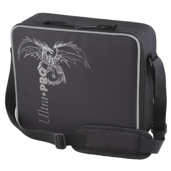 Ultra Pro - Dragon with Silver Trim - Deluxe Gaming Case Black Gadget