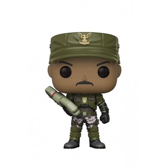 Funko Pop Games 08 - Sgt. Johnson - Halo Funko