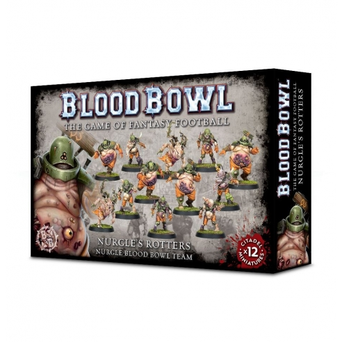 Blood Bowl - The Nurgle's Rotters Team