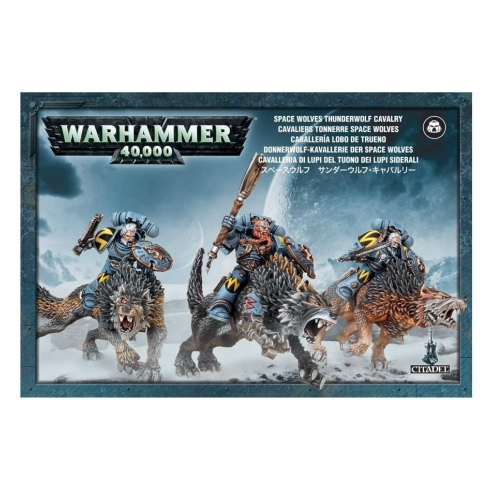 Space Wolves - Thunderwolf Cavalry Space Wolves