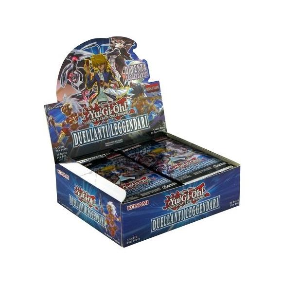 Duellanti Leggendari - Display 36 Buste (ITA - 1a Edizione) Box di Espansione