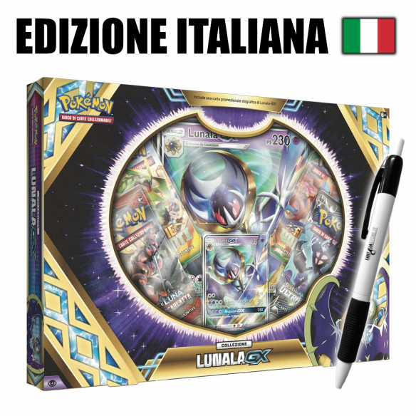 Lunala-GX - Collezione Pokémon (IT) + Penna Fantàsia  - Fantàsia 24,90€