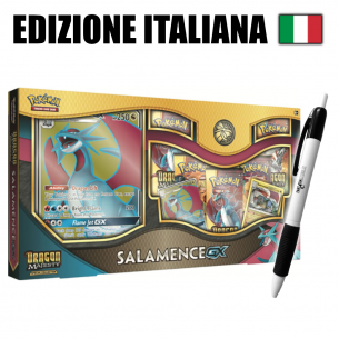Salamence GX - Set Pokémon Dragon Majesty (IT) + Fantàsia Pen Fantàsia 37,90 €