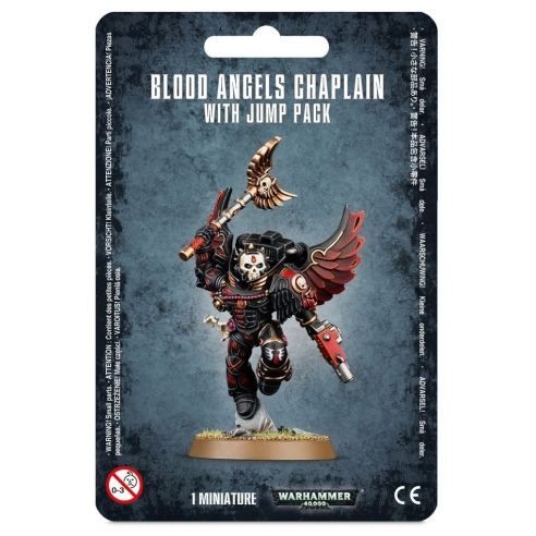 Blood Angels - Chaplain With Jump Pack Blood Angels