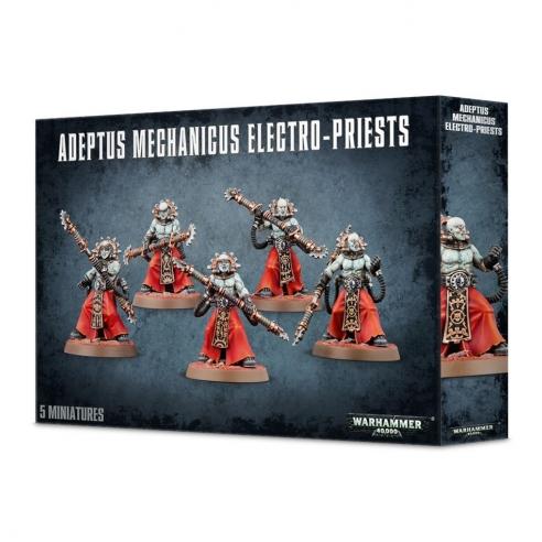 Adeptus Mechanicus - Corpuscari, Fulgurite Electro-Priest Adeptus Mechanicus