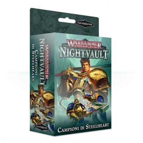 Underworlds Nightvault - Campioni Di Steelheart Bande da Guerra
