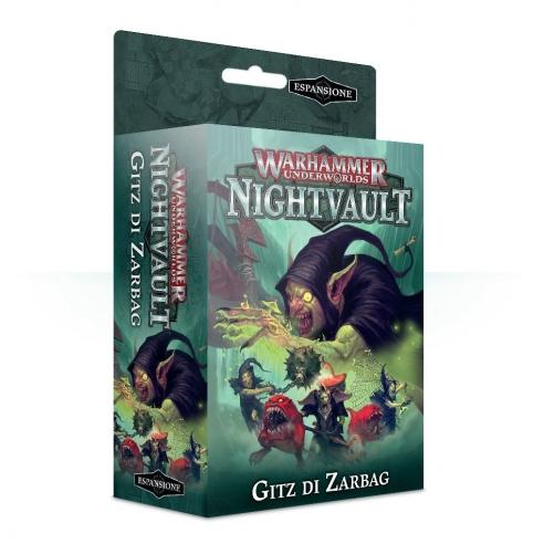 Underworlds Nightvault - Gitz Di Zarbag Bande da Guerra