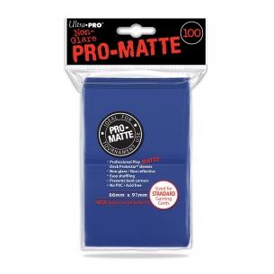 UP - PRO MATTE STANDARD SIZE - BLUE (100 bustine protettive)  - Ultra Pro 5,90€