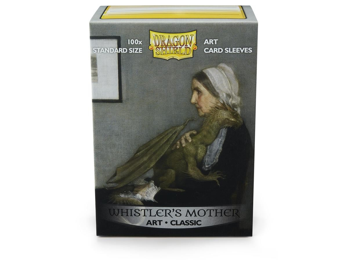 100 Sleeves Dragon Shield Magic STANDARD WHISTLER/'S MOTHER ART Bustine Protettiv