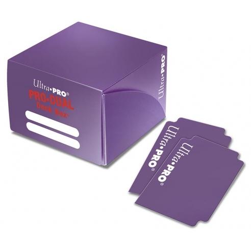 Ultra Pro - Deck Box Dual - Purple Deck Box