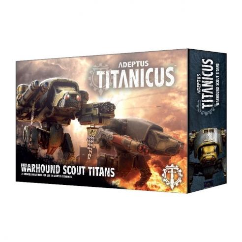 Adeptus Mechanicus - Warhound Scout Titans Titans