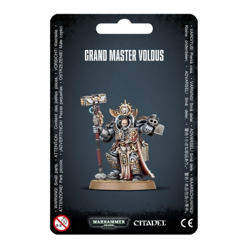 Grey Knights - Grand Master Voldus Grey Knights