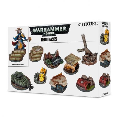 Warhammer 40.000 - Basette per Eroi Terreni e basette