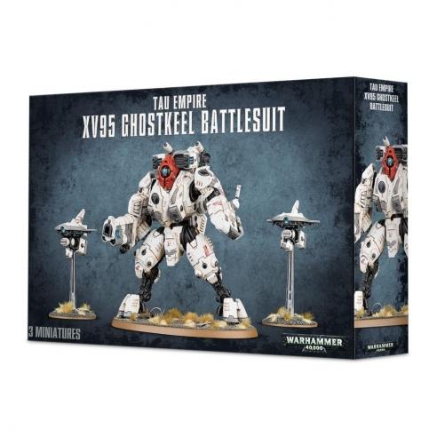 T'au Empire - XV95 Ghostkeel Battlesuit T'au Empire