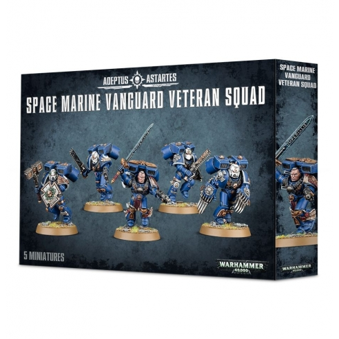 Space Marines - Vanguard Veteran Squad Space Marines