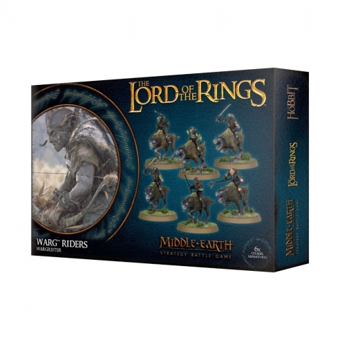 The Lord Of The Rings - Warg Riders The Lord Of The Rings