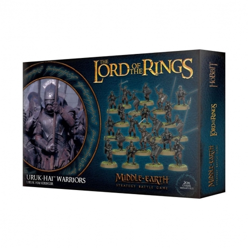 The Lord Of The Rings - Uruk-Hai Warriors The Lord Of The Rings
