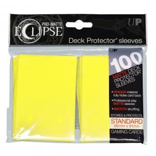 Yellow - Pro-Matte Eclipse - 100 bustine protettive  - Ultra Pro 8,90€