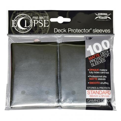 Ultra Pro - Eclipse - Matte Jet Black - Standard (100 bustine) Bustine Protettive