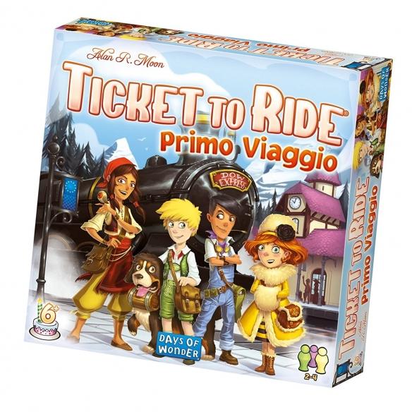 ASMODEE - TICKET TO RIDE PRIMO VIAGGIO - ITALIANO  - Asmodee 29,90€