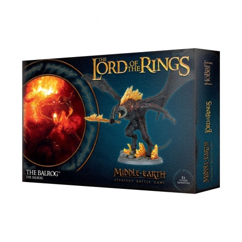 The Lord Of The Rings - The Balrog The Lord Of The Rings