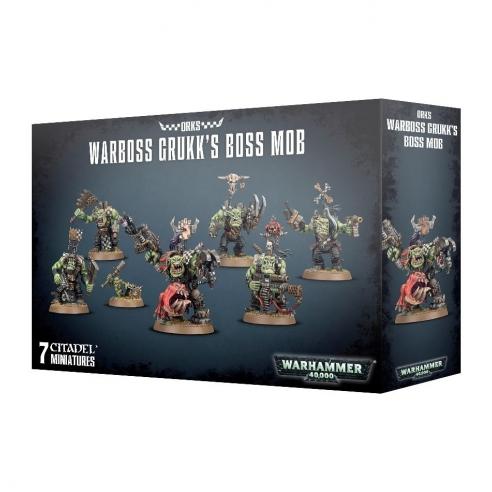 Orks - Warboss Grukk's Boss Mob Orks