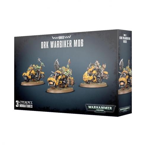 Orks - Warbiker Mob Orks