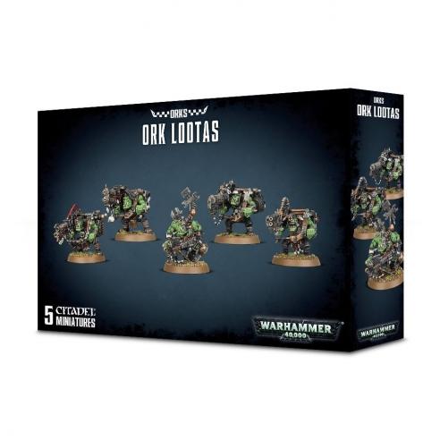 Orks - Lootas / Burna Boyz Orks