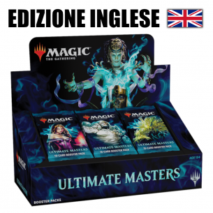 MTG Ultimate Masters - Box 24 buste (EN)  - Magic The Gathering 334,90€