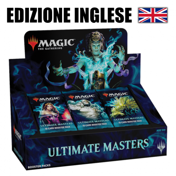 MTG Ultimate Masters - Box 24 buste (EN)  - Magic The Gathering 349,00 €