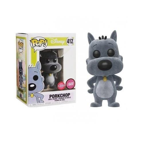 Funko Pop 412 - Porkchop FLOCKED (CHASE) - Disney Funko