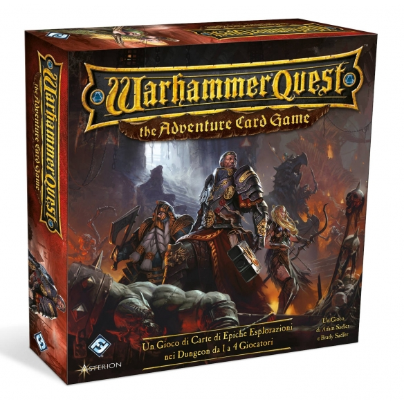 Warhammer Quest - The Adventure Card Game ITALIANO  - Asmodee 39,90€