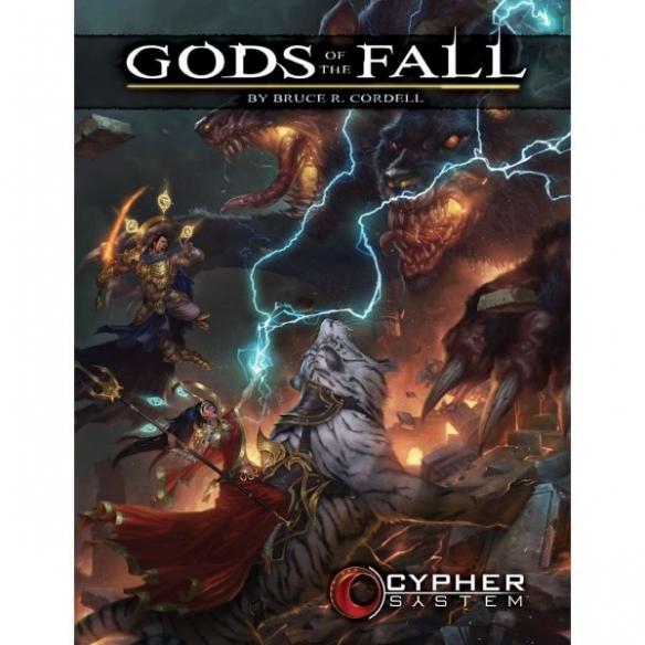 Cypher System - Gods Of The Fall (Espansione) Altri Giochi di Ruolo