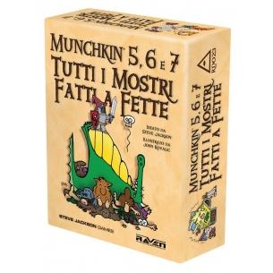RAVEN - MUNCHKIN 5,6 E 7 TUTTI I MOSTRI FATTI A FETTE - ITALIANO Raven Distribution 29,90€