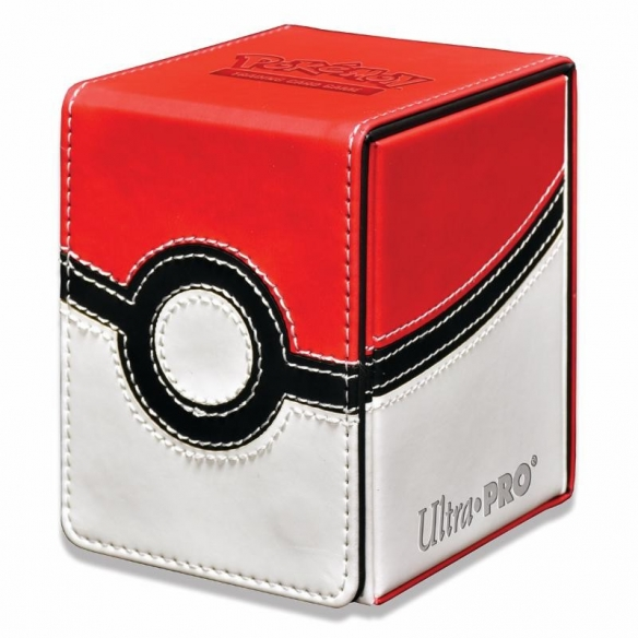 Ultra Pro - Alcove Flip Box - Poke Ball Deck Box