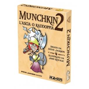 RAVEN - MUNCHKIN 2- ITALIANO  - Raven Distribution 15,90€