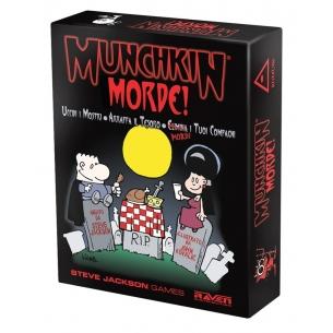 RAVEN - MUNCHKIN MORDE! - ITALIANO Raven Distribution 23,90€