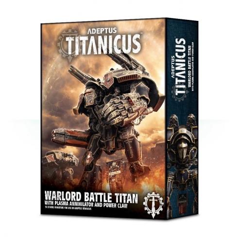 Adeptus Mechanicus - Warlord Battle Titan con Plasma Annihilator e Power Claw Titans