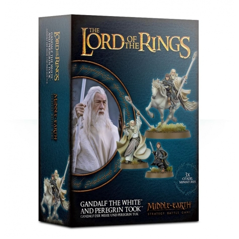 The Lord Of The Rings - Gandalf The White And Peregrin Took The Lord Of The Rings